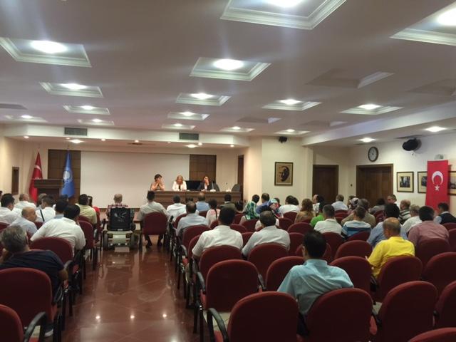 Engelsiz Ankara Üniversitesi Personel Toplantısı