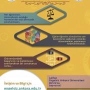 Engelsiz Ankara Üniversitesi Birimi Broşür Çalışması - 2